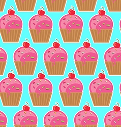 Cool seamless pattern sweets vector