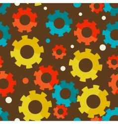 Seampless background with gears vector