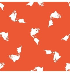 Orange america pattern vector
