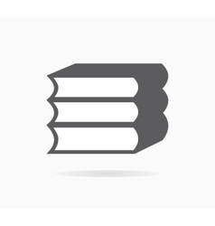 Book icon or logo vector