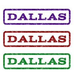 Dallas watermark stamp vector
