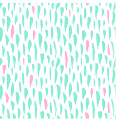 seamless pattern trendy brush strokes vector image vector image
