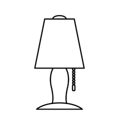 Lamp icon home object design graphic vector