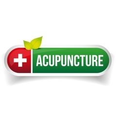 Acupuncture logo vector