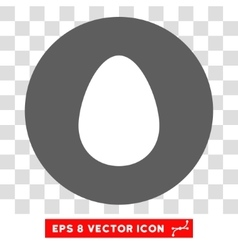 Egg Round Eps Icon vector image