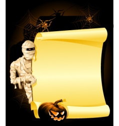 halloween invitation vector image vector image