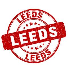 Leeds stamp vector