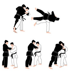 People judo vector