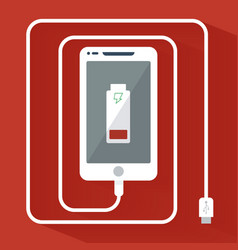 Phone Charging Icon vector image