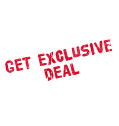 Get exclusive deal rubber stamp vector