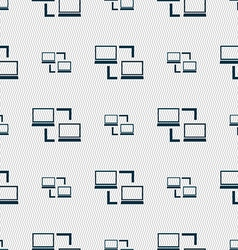 Key sign icon unlock tool symbol seamless abstract vector