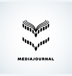 Media journal vector