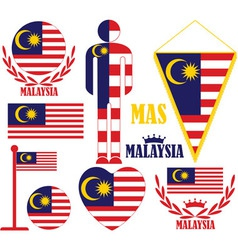 Malaysia vector image vector image