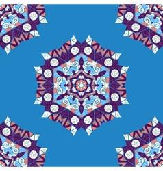 Mandala endless ethnic seamless ornament vector