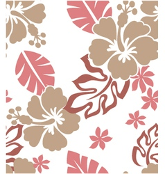 seamless flower summer vector image vector image