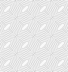 Slim gray diagonal marrakesh grid vector