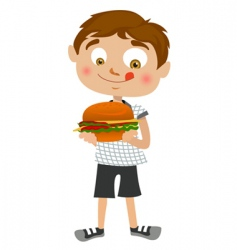 Boy cartoon vector