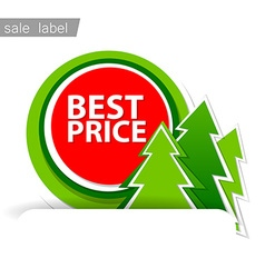 Merry christmas sale vector