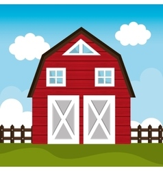 Farm fresh graphic vector image