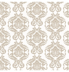Damask luxury pattern vector
