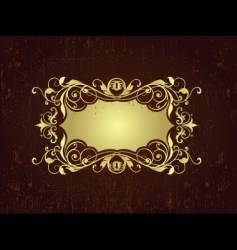 Decorative frame vector
