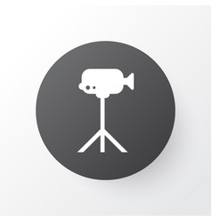 video camera icon symbol premium quality isolated vector image vector image