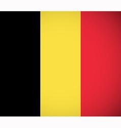 National flag of belgium vector
