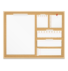 Bulletin board vector