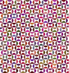 Colorful curved shape pattern background design vector
