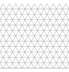 seamless triangle geometric pattern background vector image