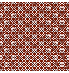 3d white pattern in islamic style vector