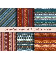 Seamless texture set vector