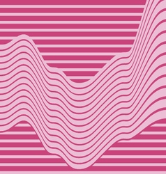 abstract background with pink wave vector image
