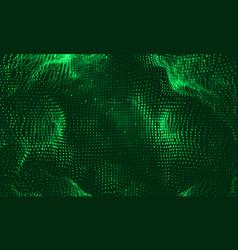 abstract big data visualization vector image vector image