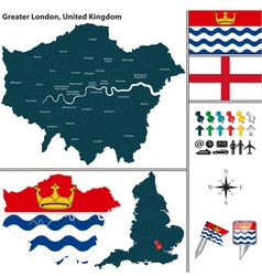 Greater london vector