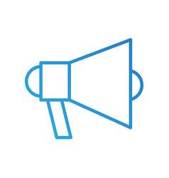 megaphone loudspeaker volume marketing advertising vector image vector image