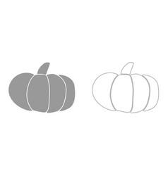 pumpkin it is icon vector image