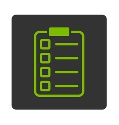 Examination icon vector