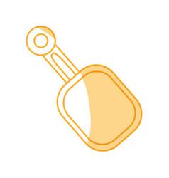 small shovel spade vector image