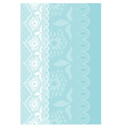 blue lace vector image