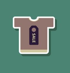 Fashion patch sale sticker t-shirt vector