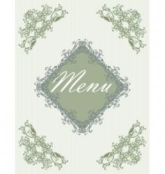 menu09 vector image