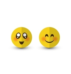 Set of emotions vector
