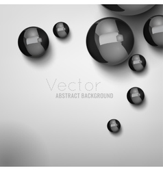 Abstract balls background 02 a vector