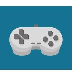 control console social media isolated icon design vector image