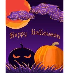 Halloween Greetings vector image