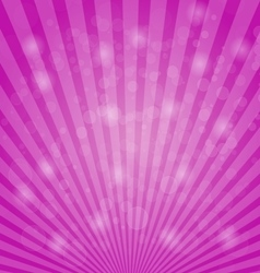 Abstract bokeh on pink background vector