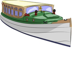 boat a vector image