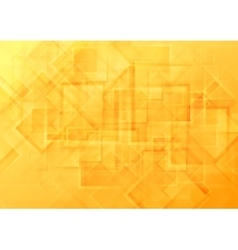 Bright orange geometric background vector