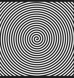 Hypnotic spiral vector